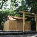 古殿が姿を消した神前神社(皇大神宮 摂社)