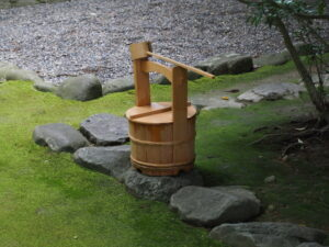 月次祭を終えた河原淵神社(豊受大神宮 摂社)