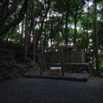 「月次祭」の日の赤崎神社(豊受大神宮 末社)