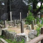 山の神にも御垣の柱、一色神社(伊勢市一色町)