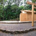 古殿の御用材が運び出され、新しい20年が始まった神前神社(皇大神宮 摂社)
