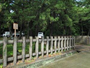 海岸側の出入口付近、御塩殿神社(皇大神宮 所管社)