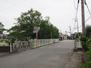 現在の御薗橋(伊勢市御薗町上條・新開の境界)