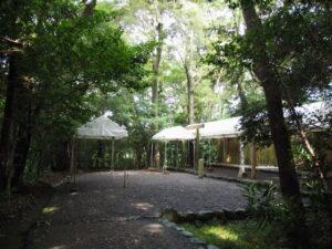 仮殿遷座の朝、堅田神社(皇大神宮 摂社)