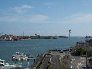 一色大橋から遠望した海上アクセス関連事業 頓挫 地