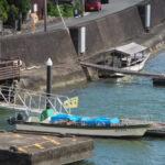 7月26日に初就航となる「みずきⅡ世」と悲しげな「みずき」