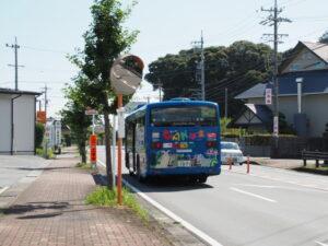 堅田神社付近(伊勢市二見町茶屋)