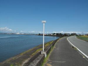 河口から2.2km地点(五十鈴川右岸)