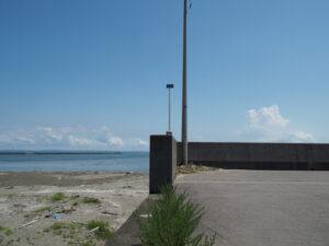 河口から0.0km地点(五十鈴川右岸)