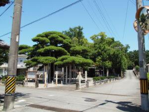 日保見山八幡宮(伊勢市大湊町)