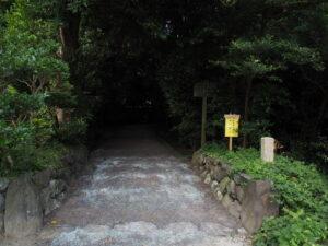 修繕工事が進められる堅田神社(皇大神宮 摂社)