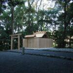 仮殿が姿を消した堅田神社(皇大神宮 摂社)