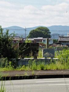 社叢遠望、宇須乃野神社(豊受大神宮 摂社)